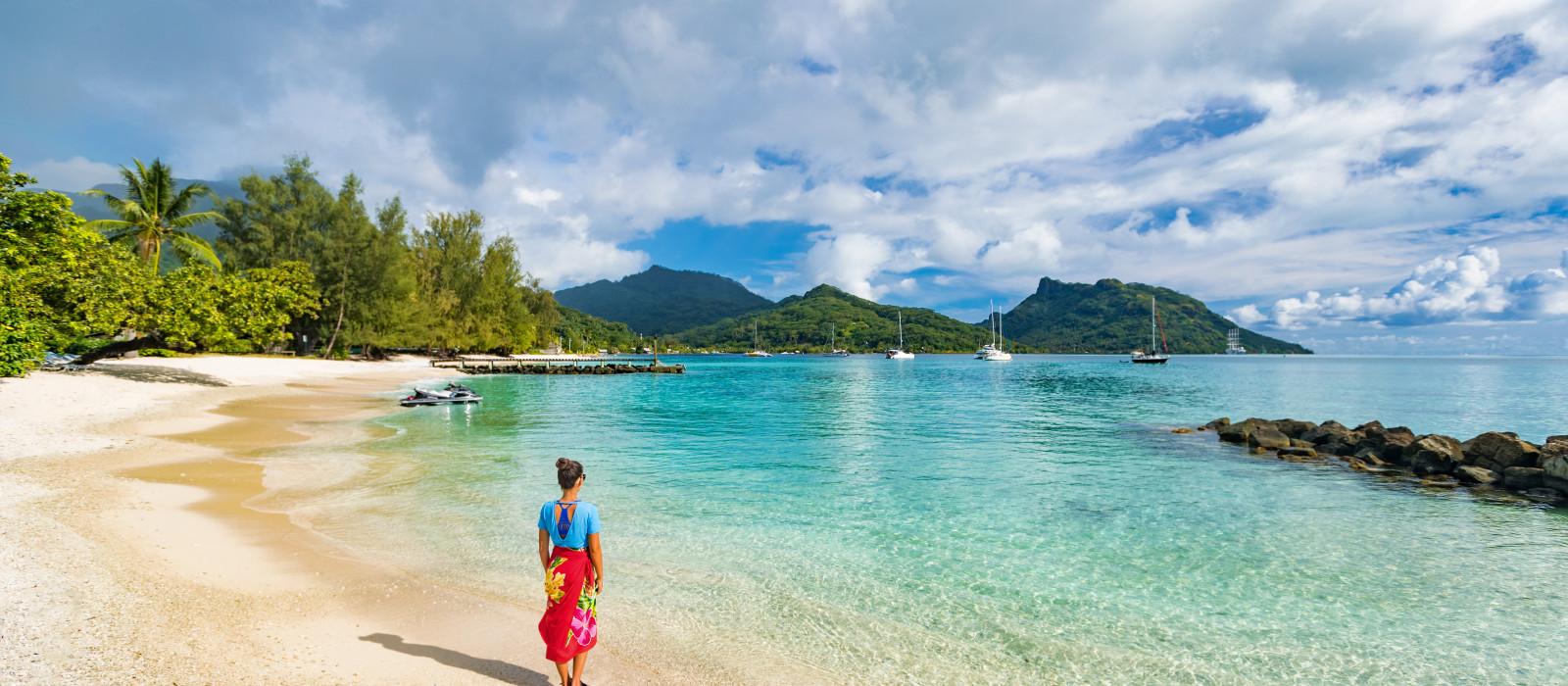 Reiseziel Huahine Französisch Polynesien