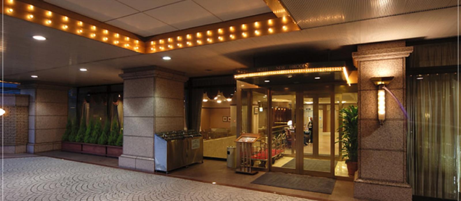 Hotel  New Hiroden Japan