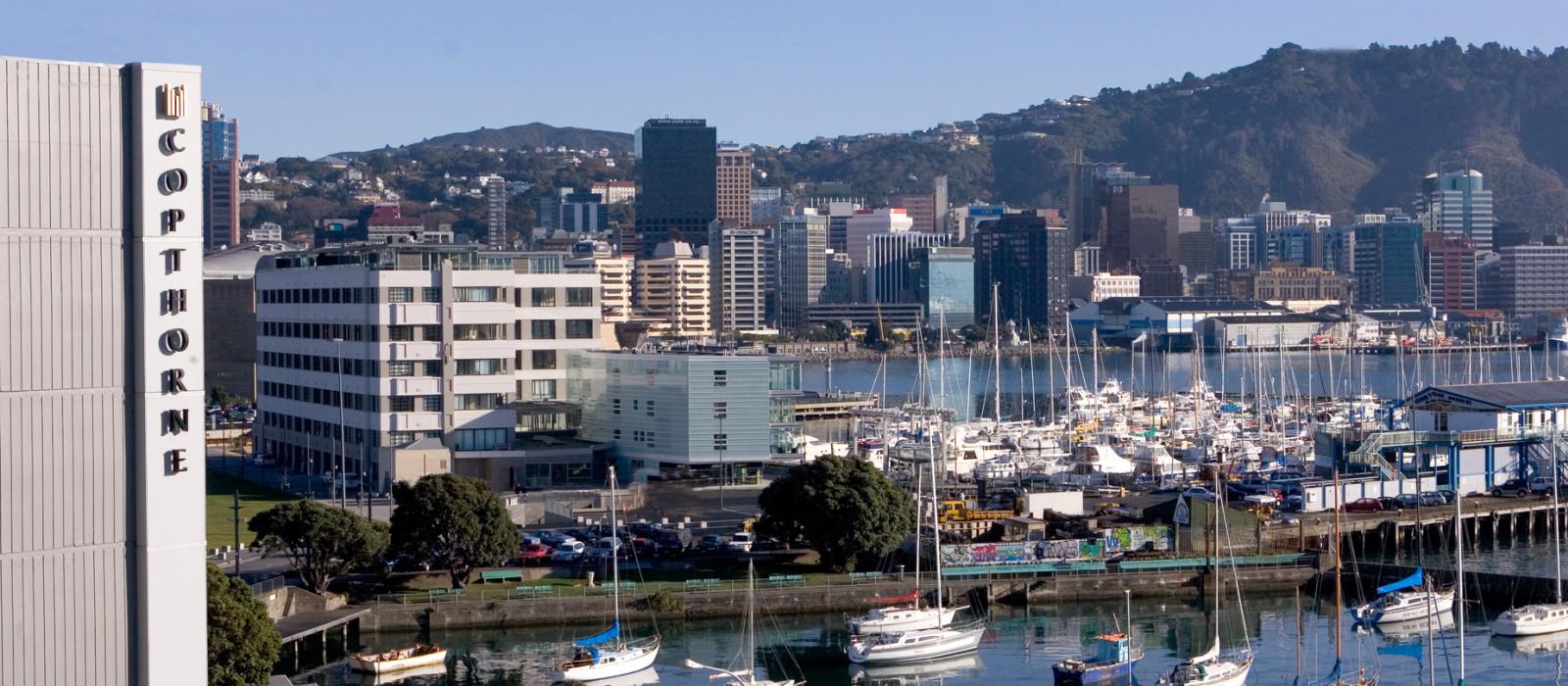 Hotel Copthorne Oriental Bay Neuseeland
