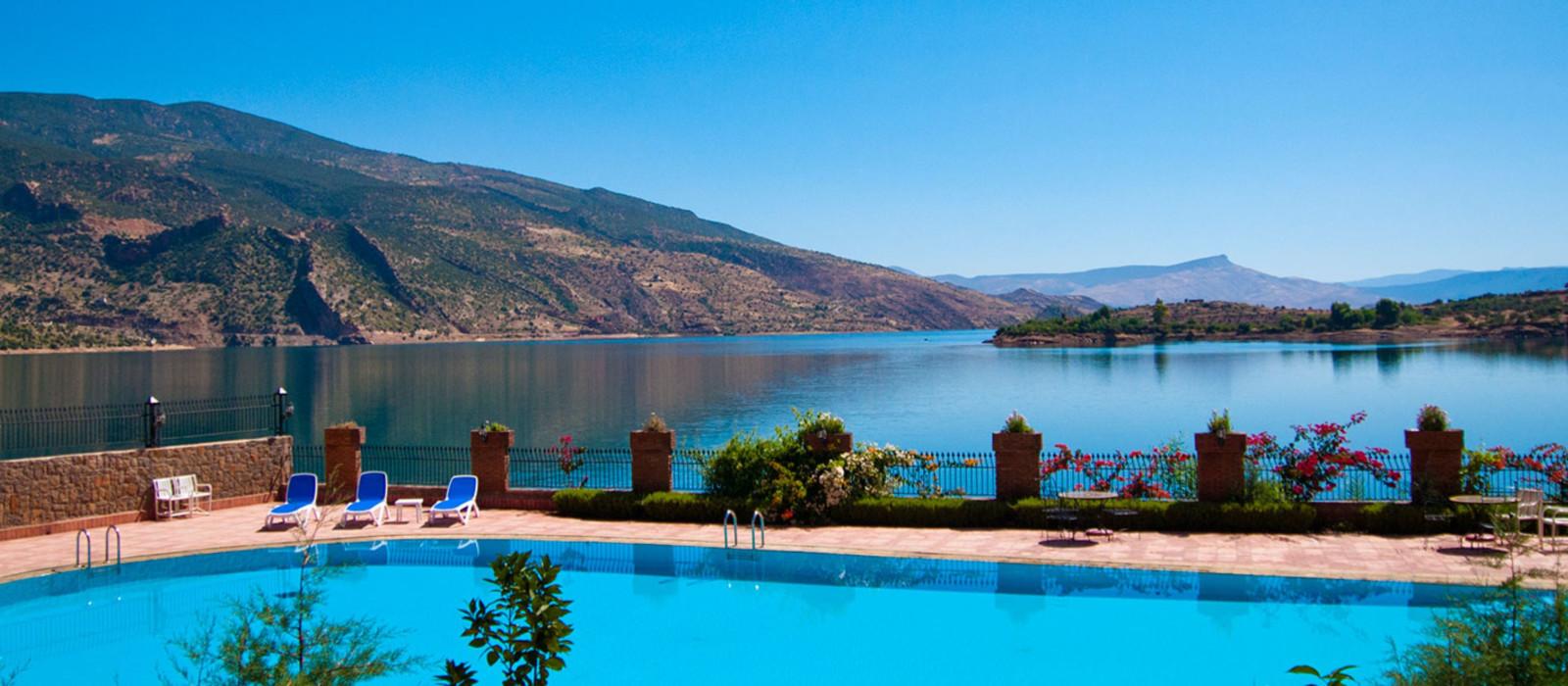 Hotel Chems du Lac Bin El Ouidane Morocco