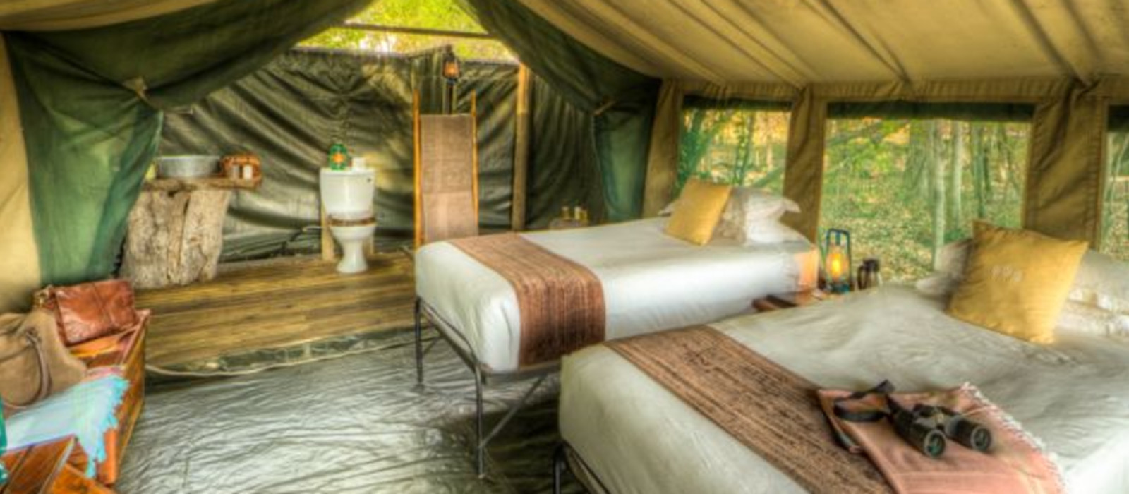 Hotel Footsteps Camp: Footsteps Across The Delta Botswana