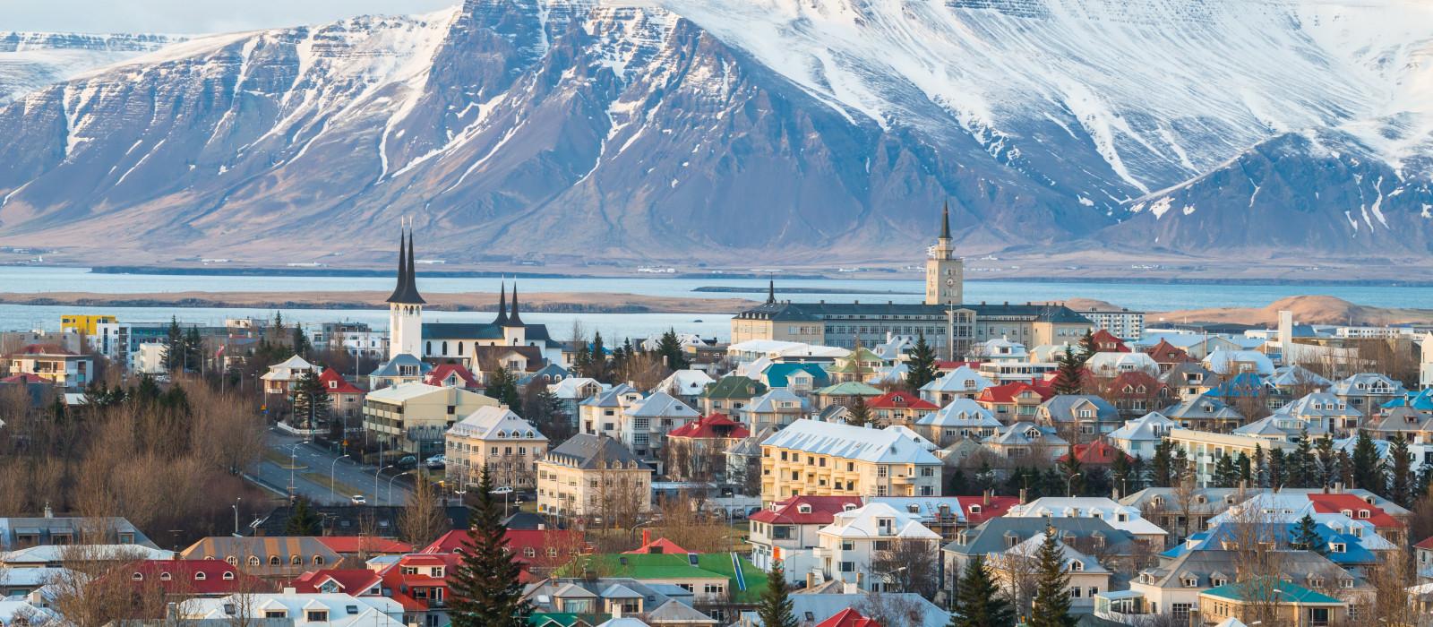 Reiseziel Reykjavik Island