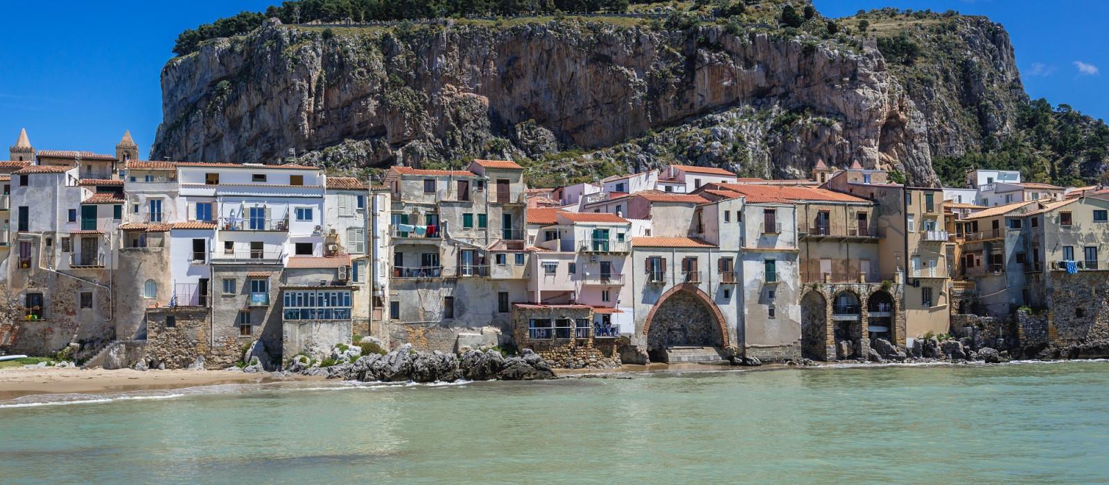 Reiseziel Cefalù Italien