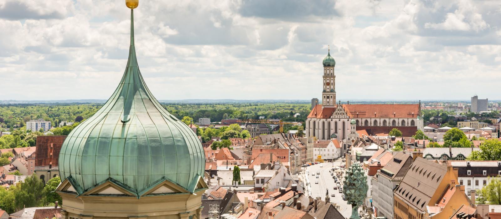 Destination Augsburg Germany