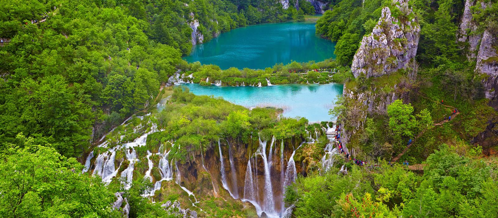 Reiseziel Plitvicer Seen Kroatien & Slowenien
