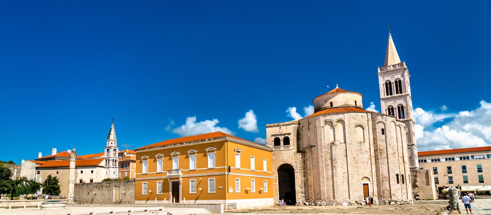 Reiseziel Zadar Kroatien & Slowenien