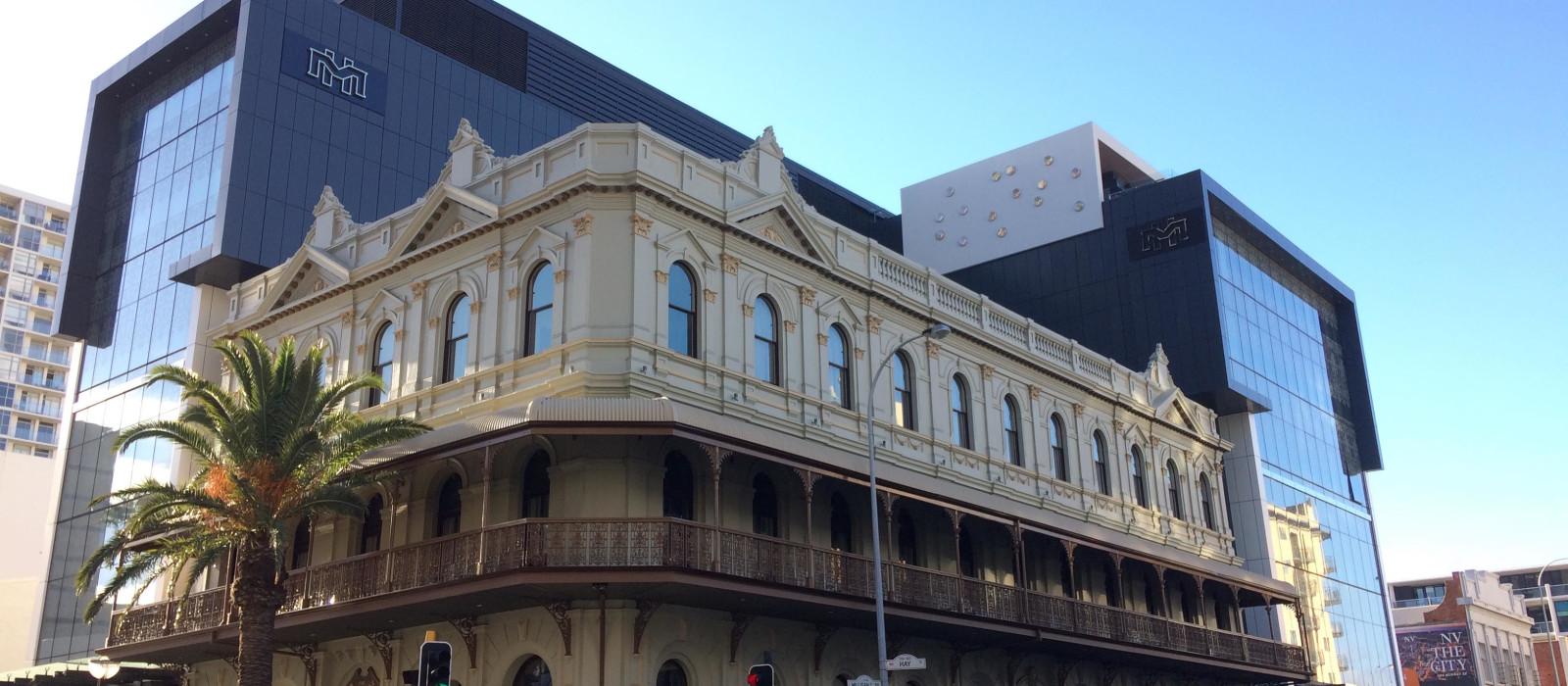 Hotel The Melbourne  Perth Australia