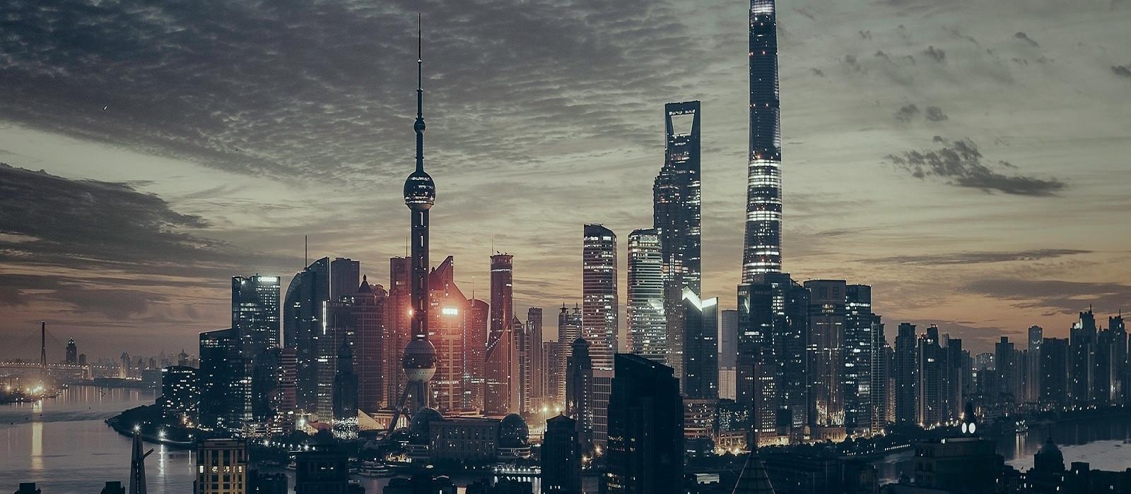 Reiseziel Shanghai China