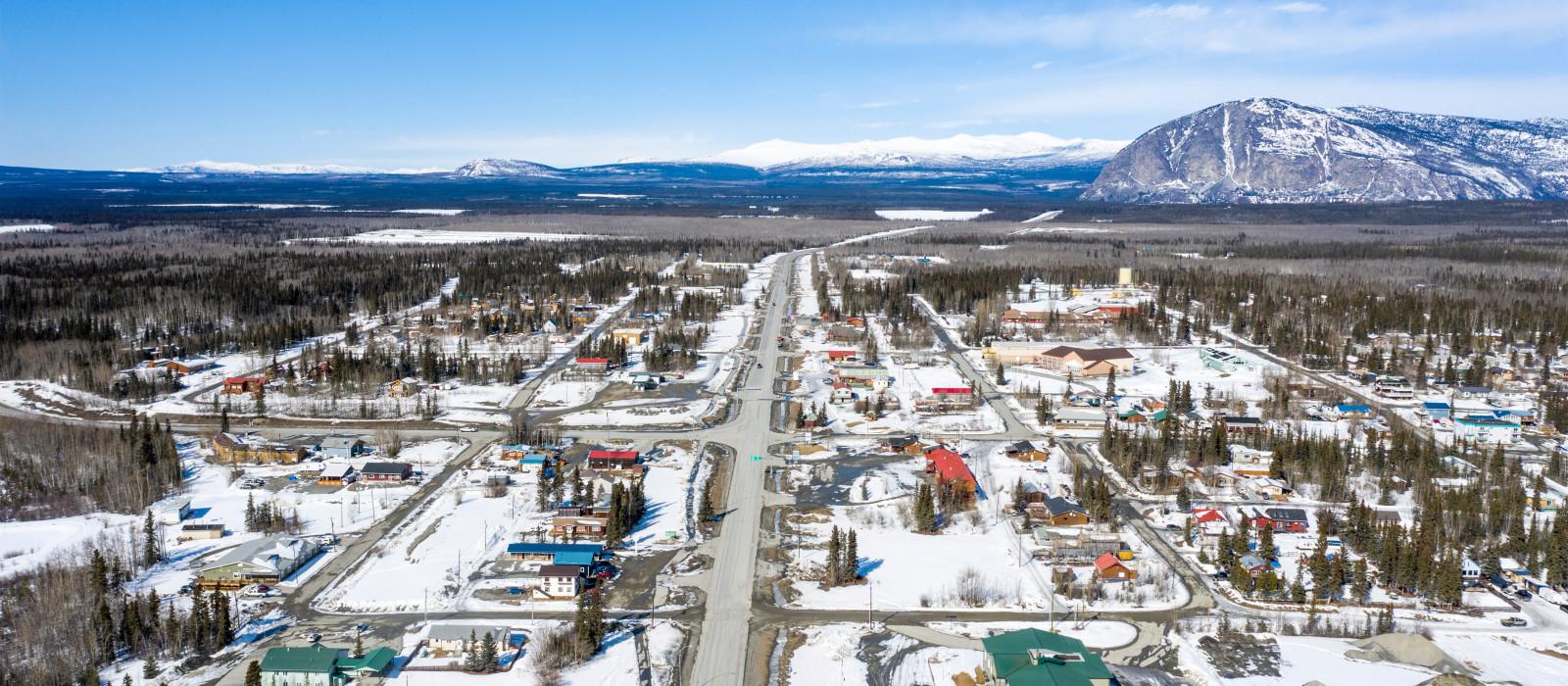 Destination Haines Junction Canada