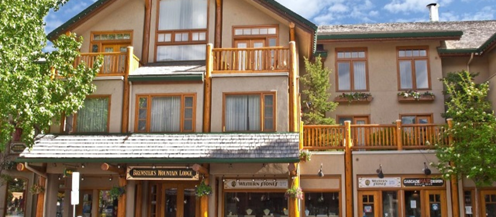 Hotel Brewster's Mountain Lodge Canada