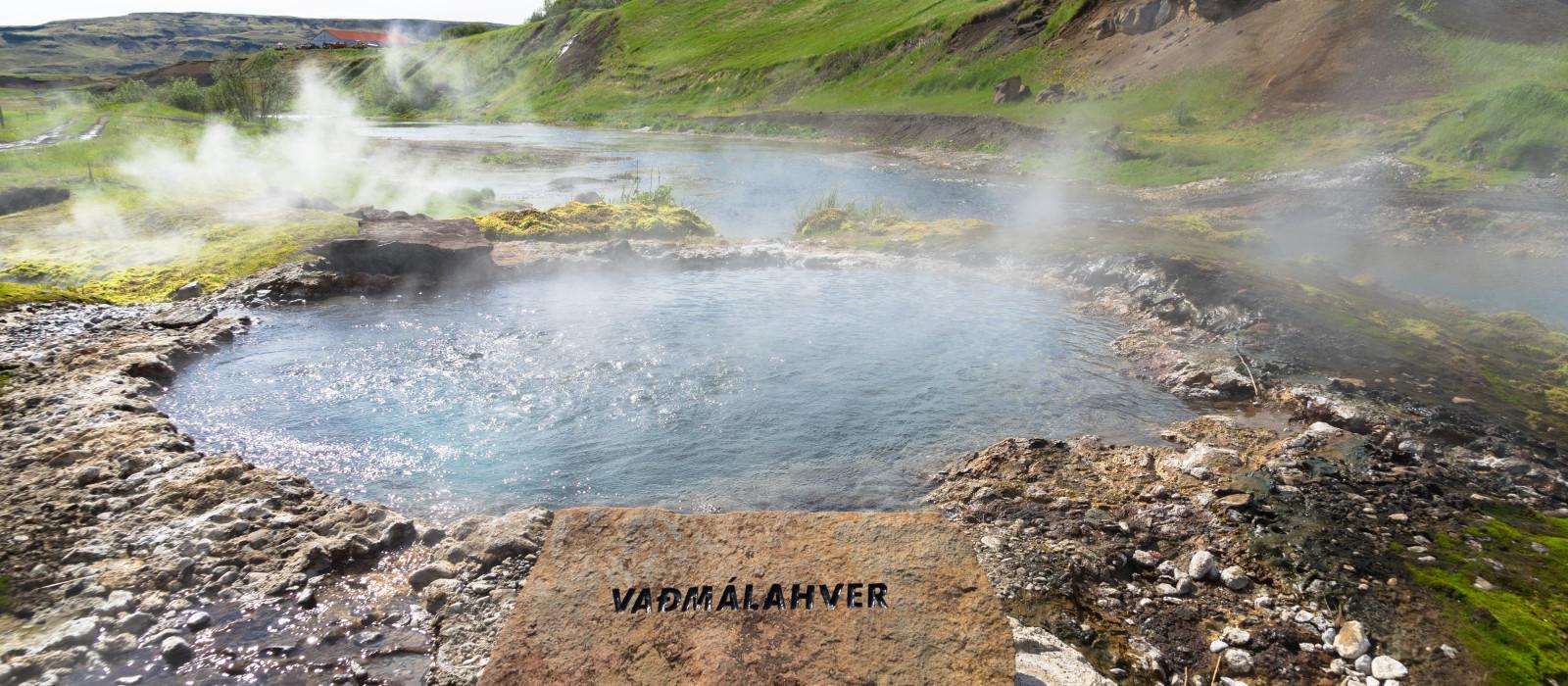Destination Flúðir Iceland