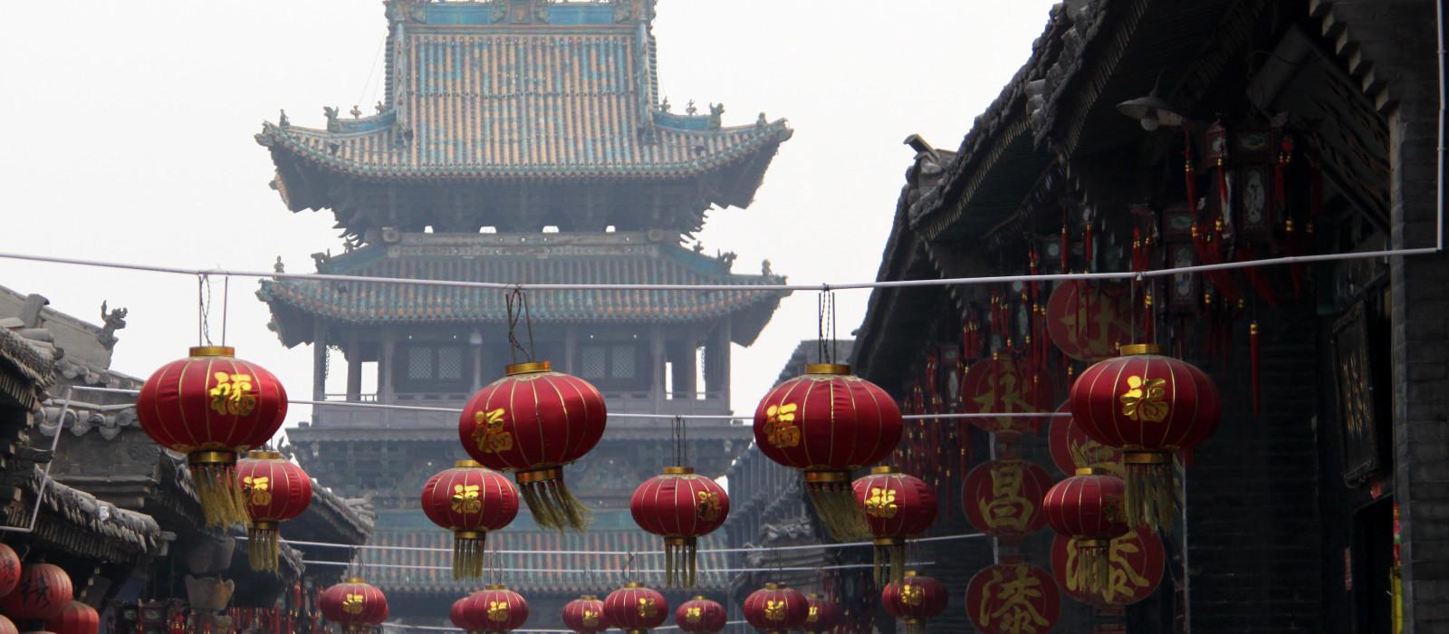 Reiseziel Pingyao China