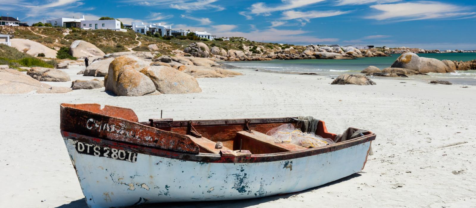 Reiseziel Paternoster Südafrika