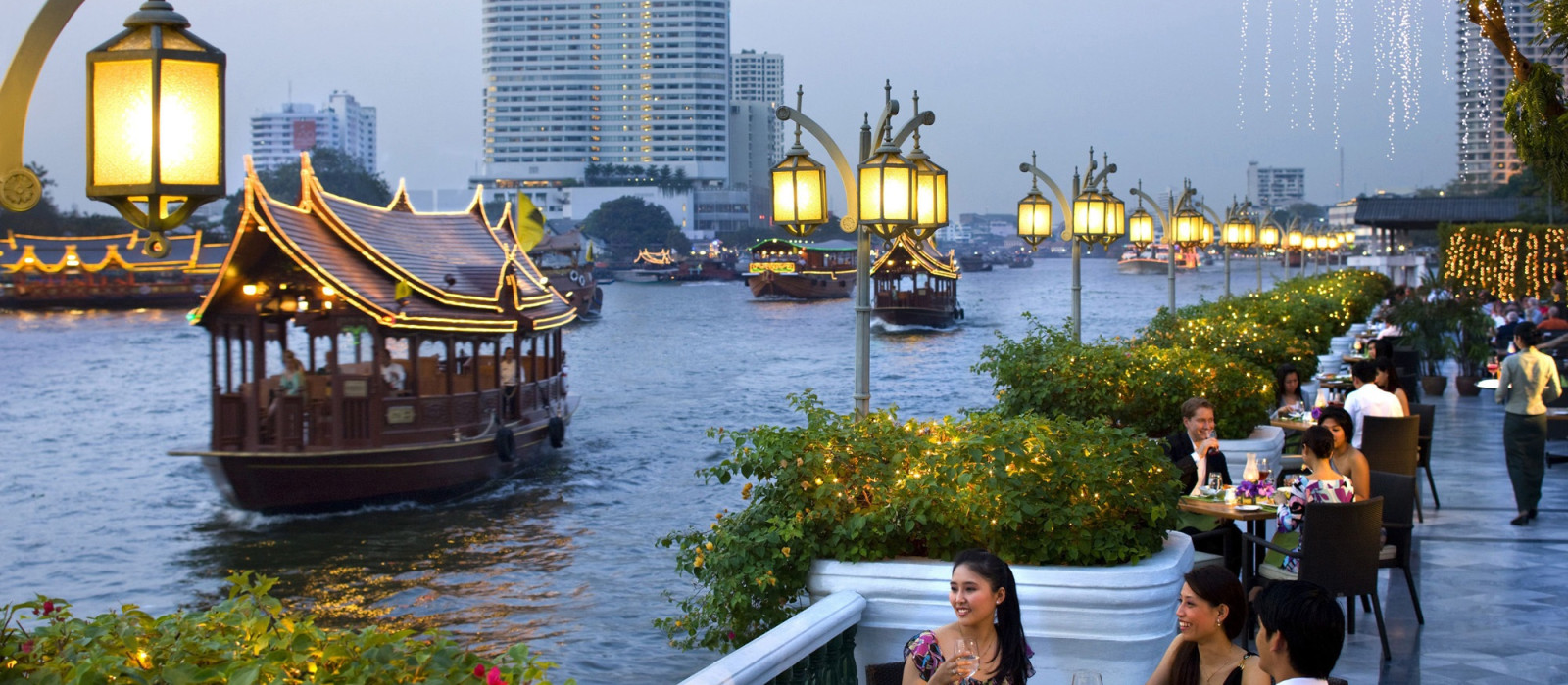 Hotel The Peninsula Bangkok Thailand