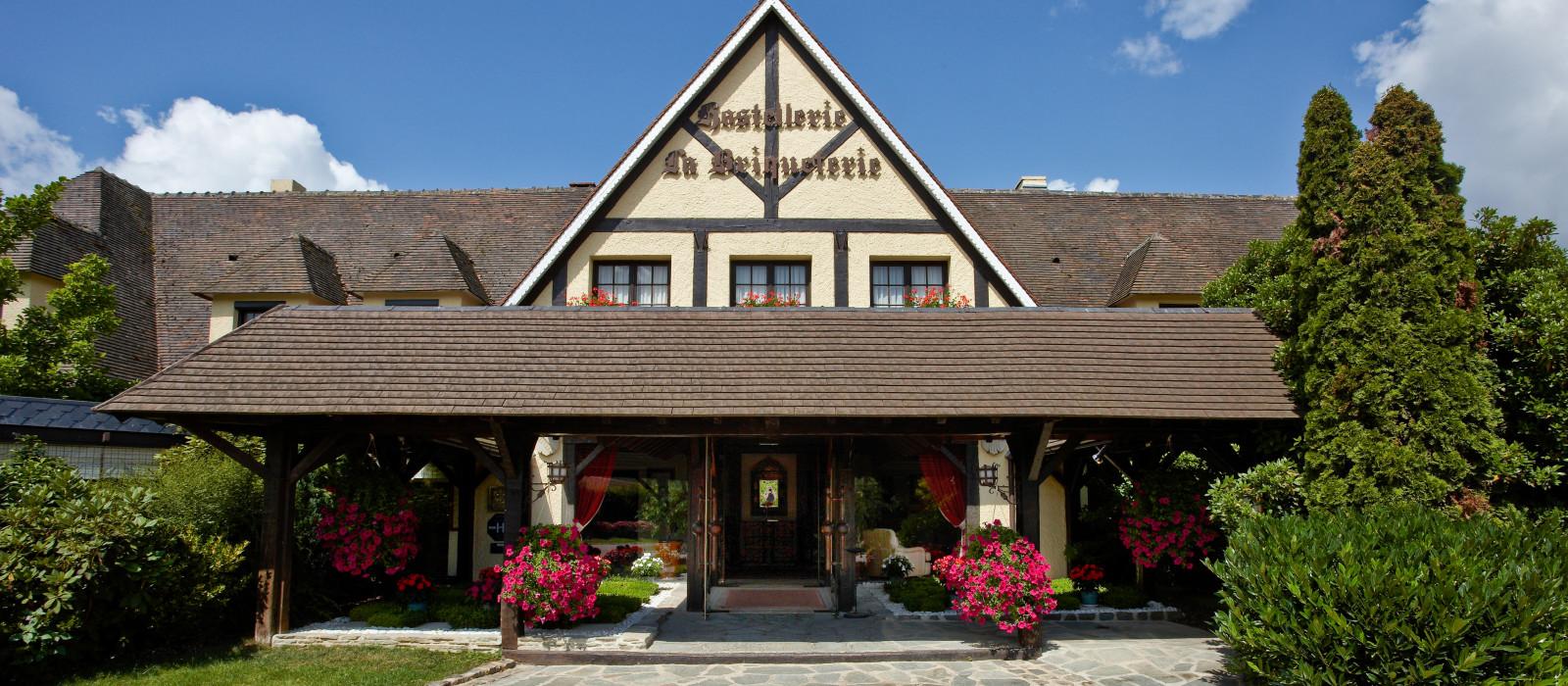 Hotel Hostellerie La Briqueterie France