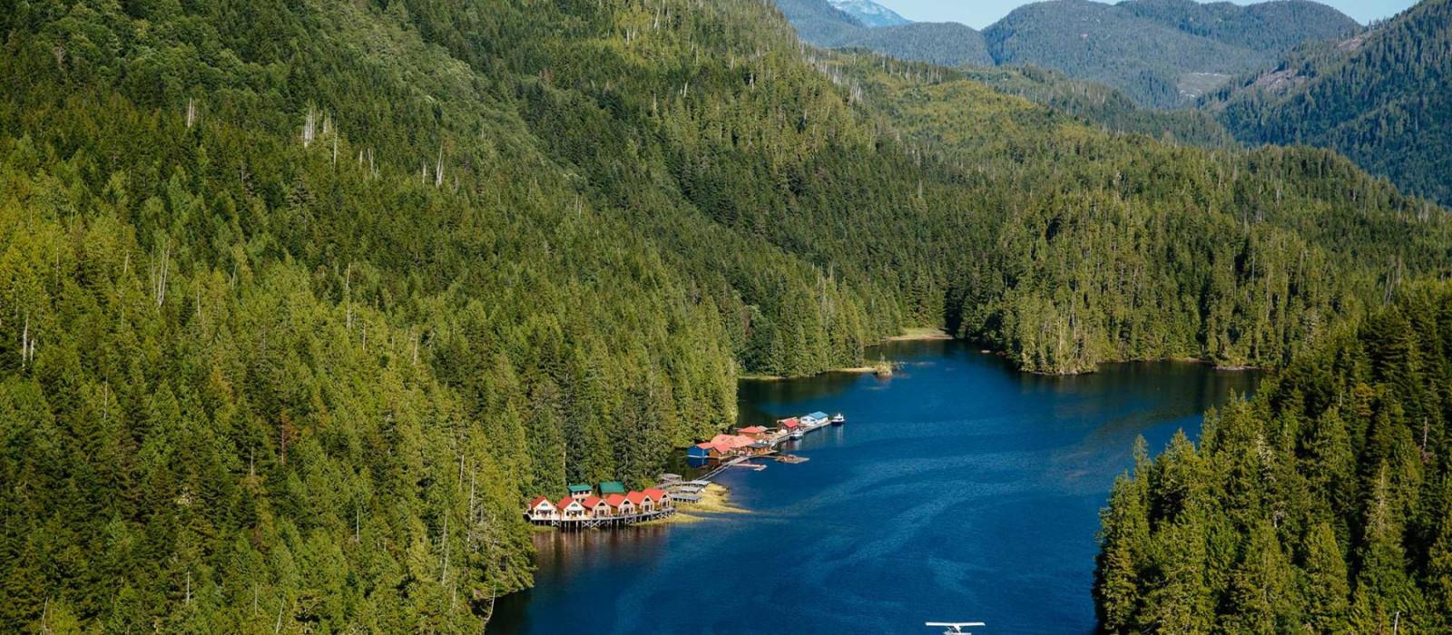 Destination Nimmo Bay Canada