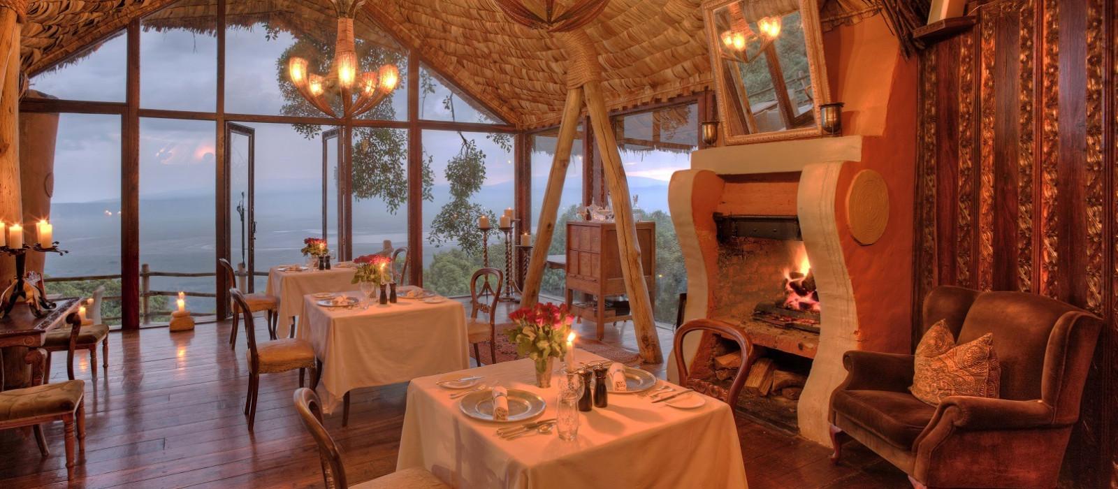 Hotel Ngorongoro Crater Lodge Tansania