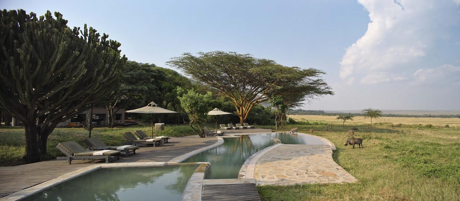 Hotel Kichwa Tembo Kenia