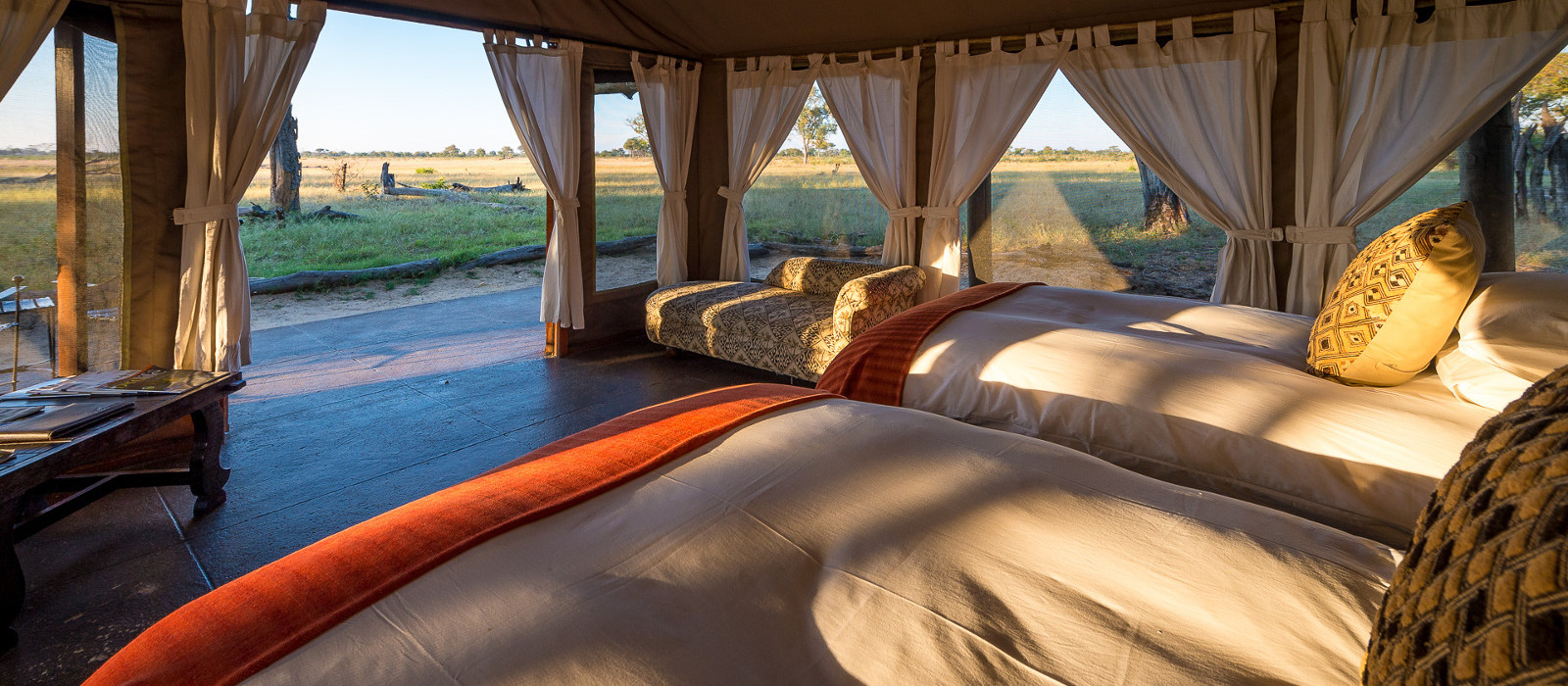 Hotel Davison's Camp Simbabwe