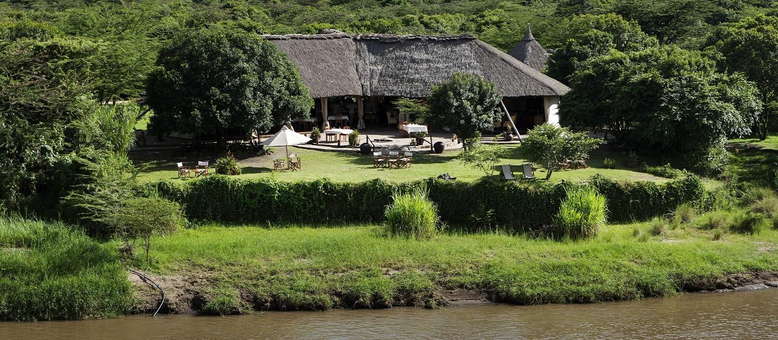 Hotel Karen Blixen Camp Kenia