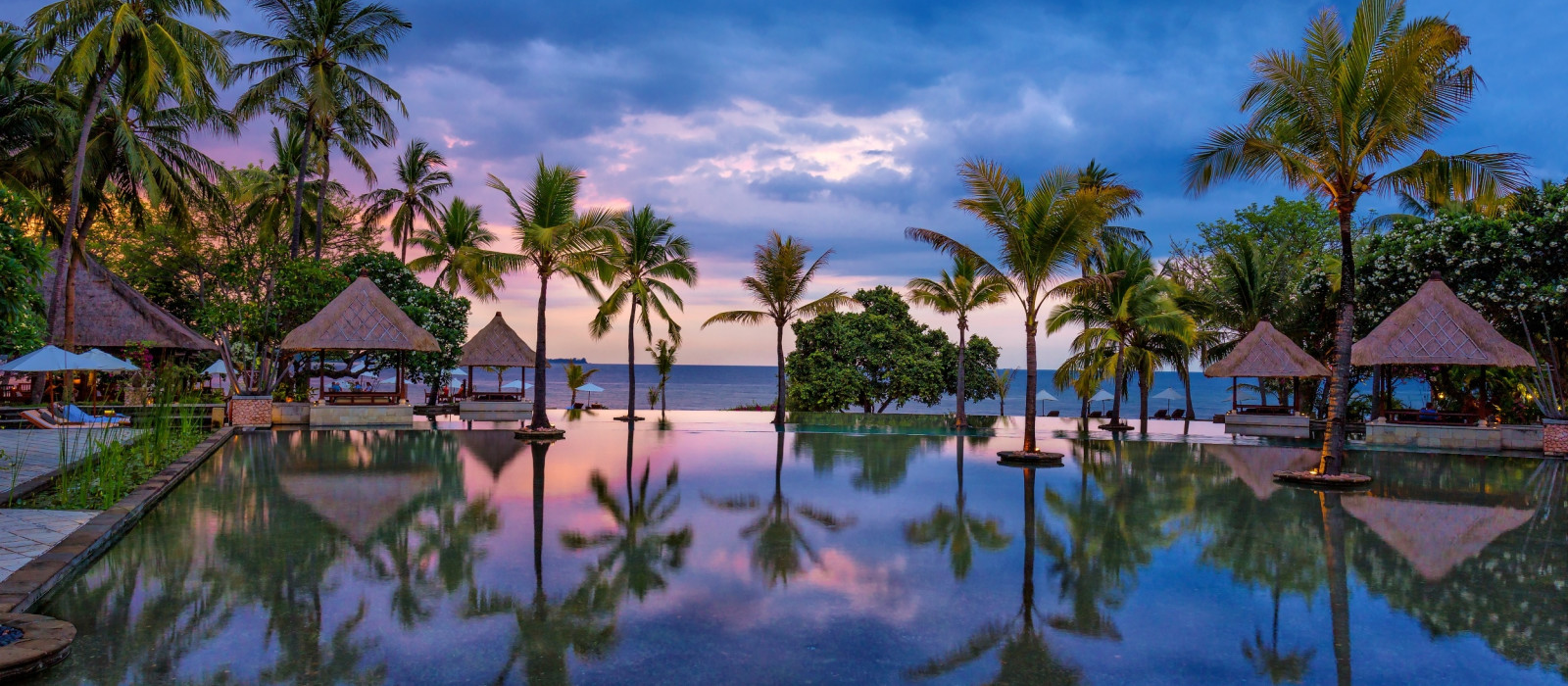 Hotel The Oberoi Beach Resort, Lombok Indonesien