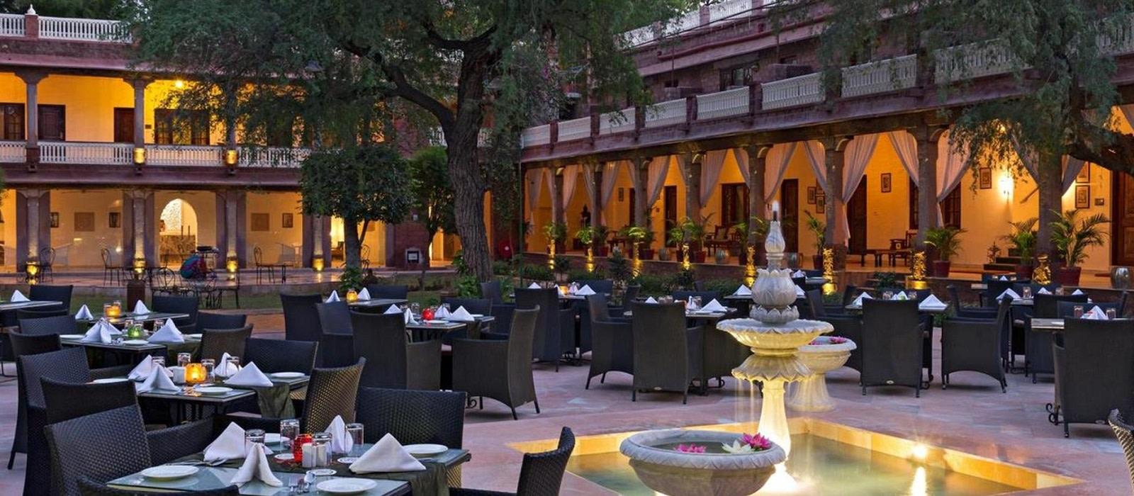 Hotel Ranbanka Palace Jodhpur Nordindien