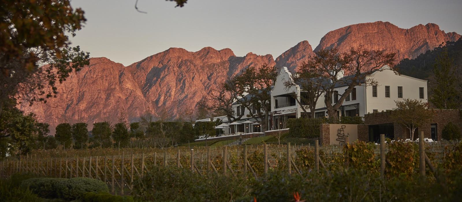 Hotel Leeu Estates Südafrika