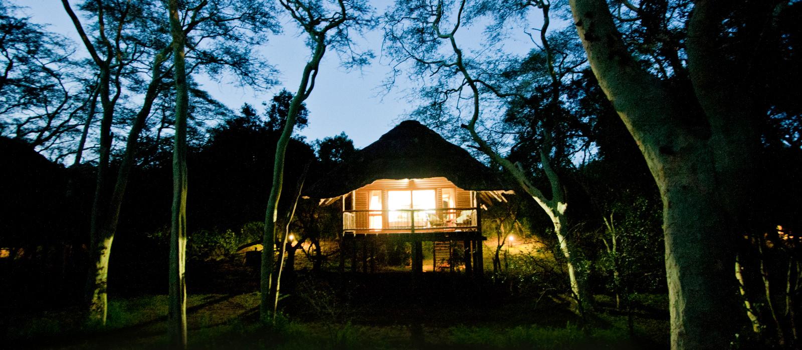 Hotel Zululand Tree Lodge Südafrika