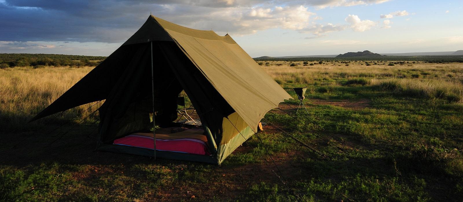 Hotel Karisia Klassiches Busch Camp Kenia