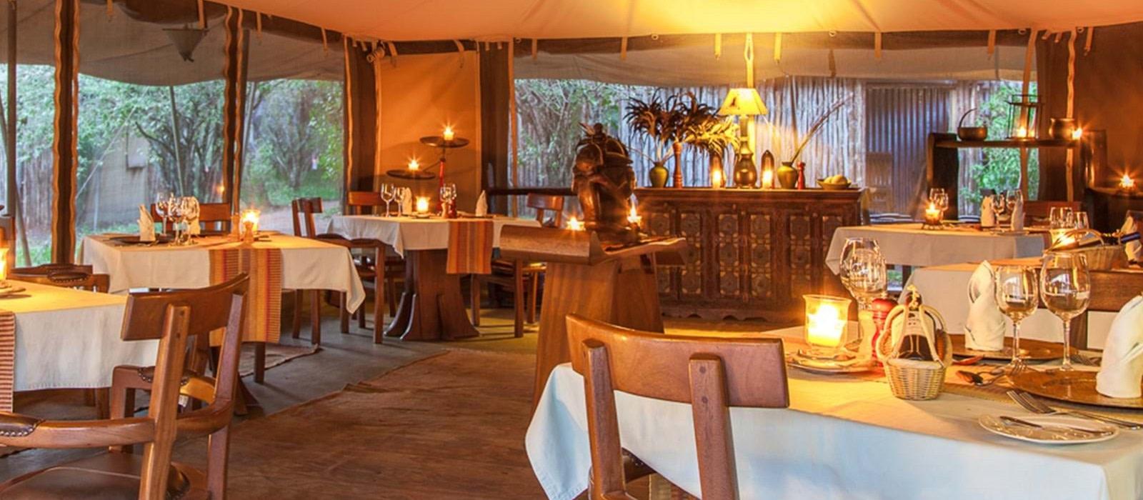 Hotel Mara Ngenche Safari Camp Kenia