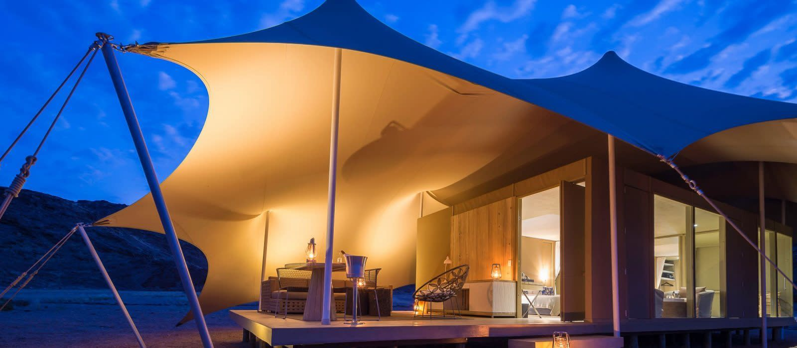 Hotel Hoanib Skeleton Coast Camp Namibia