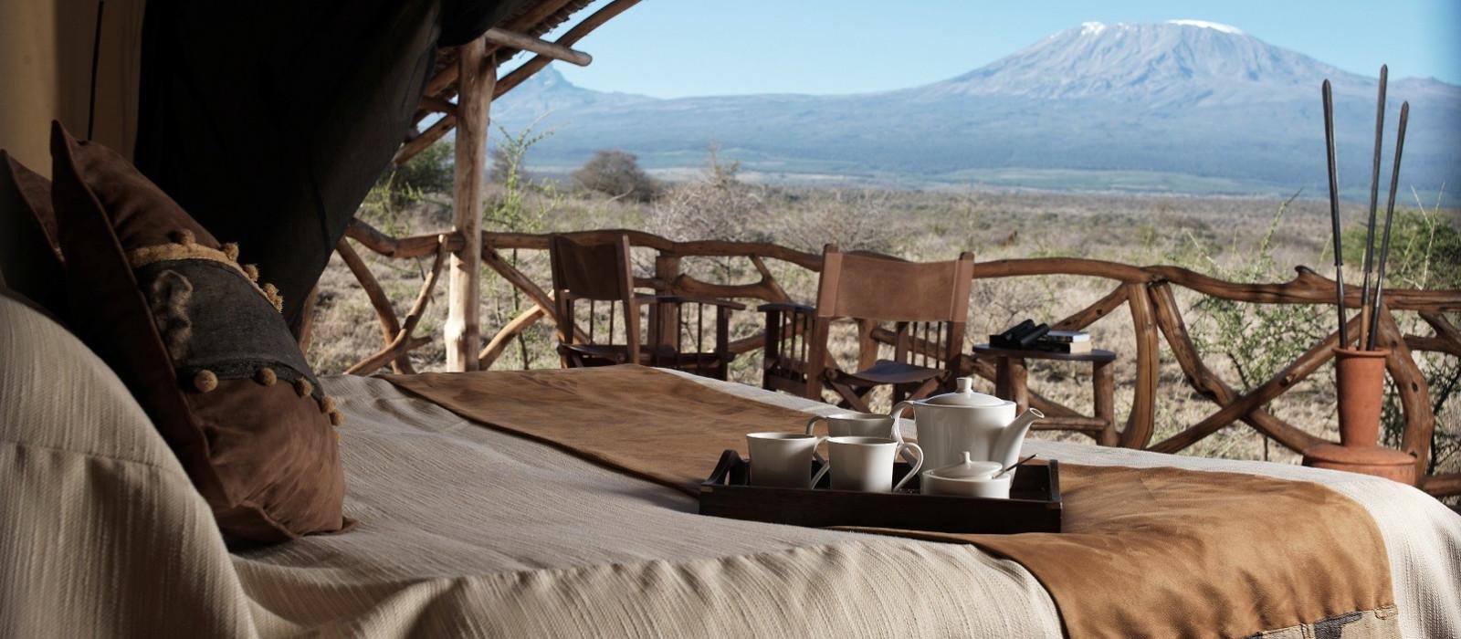 Hotel Satao Elerai Camp Kenia