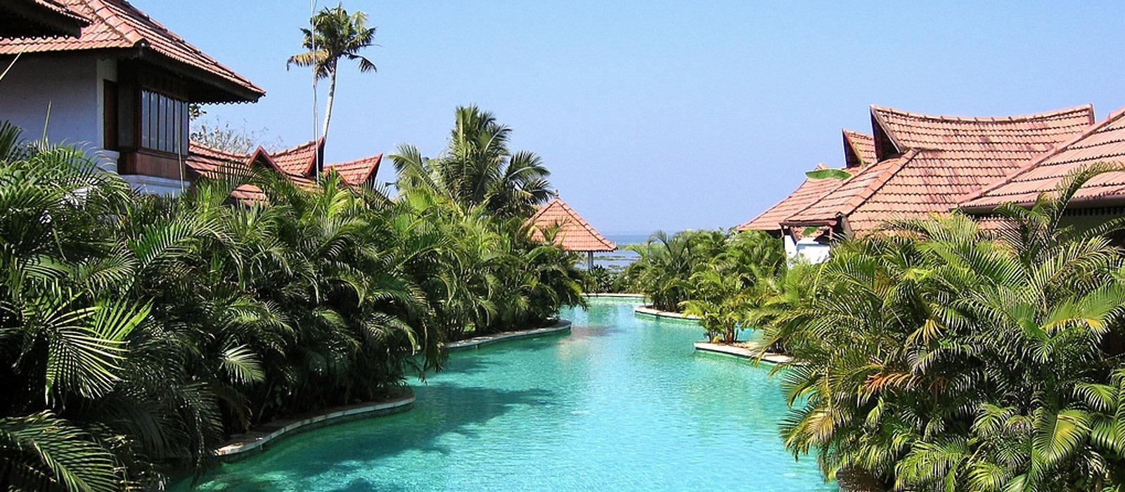 Hotel Kumarakom Lake Resort Südindien