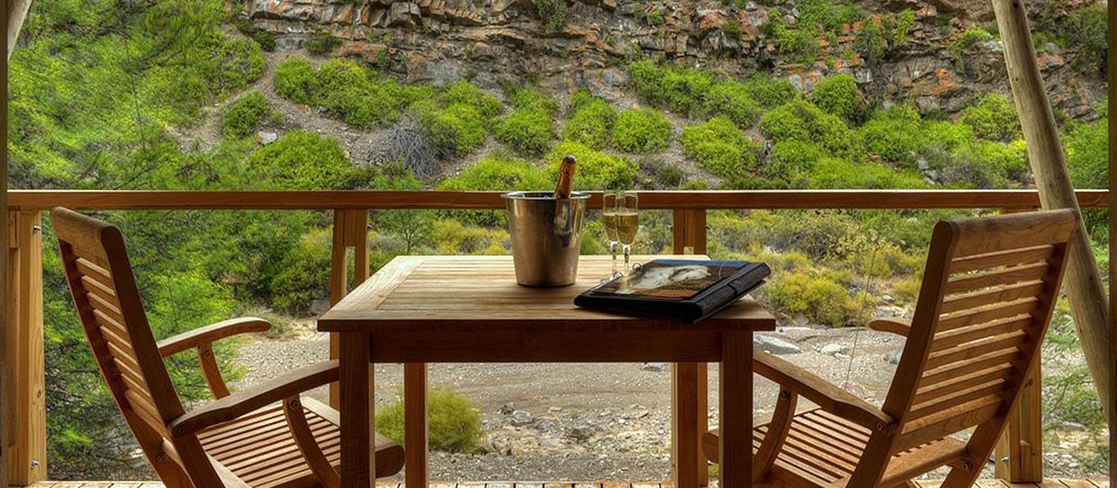 Hotel Sanbona Dwyka Tented Lodge Südafrika