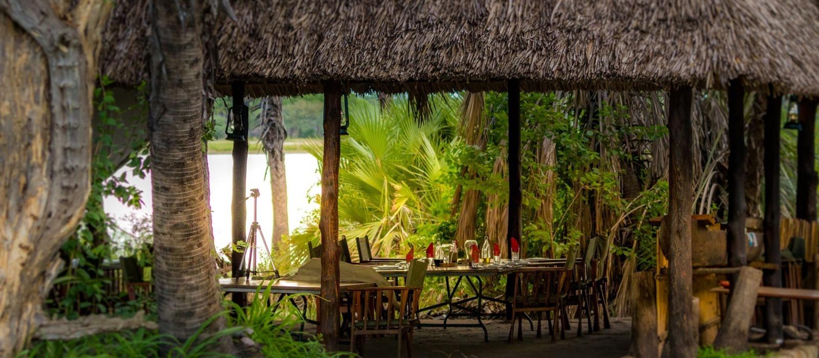 Hotel Lake Manze Camp Tansania