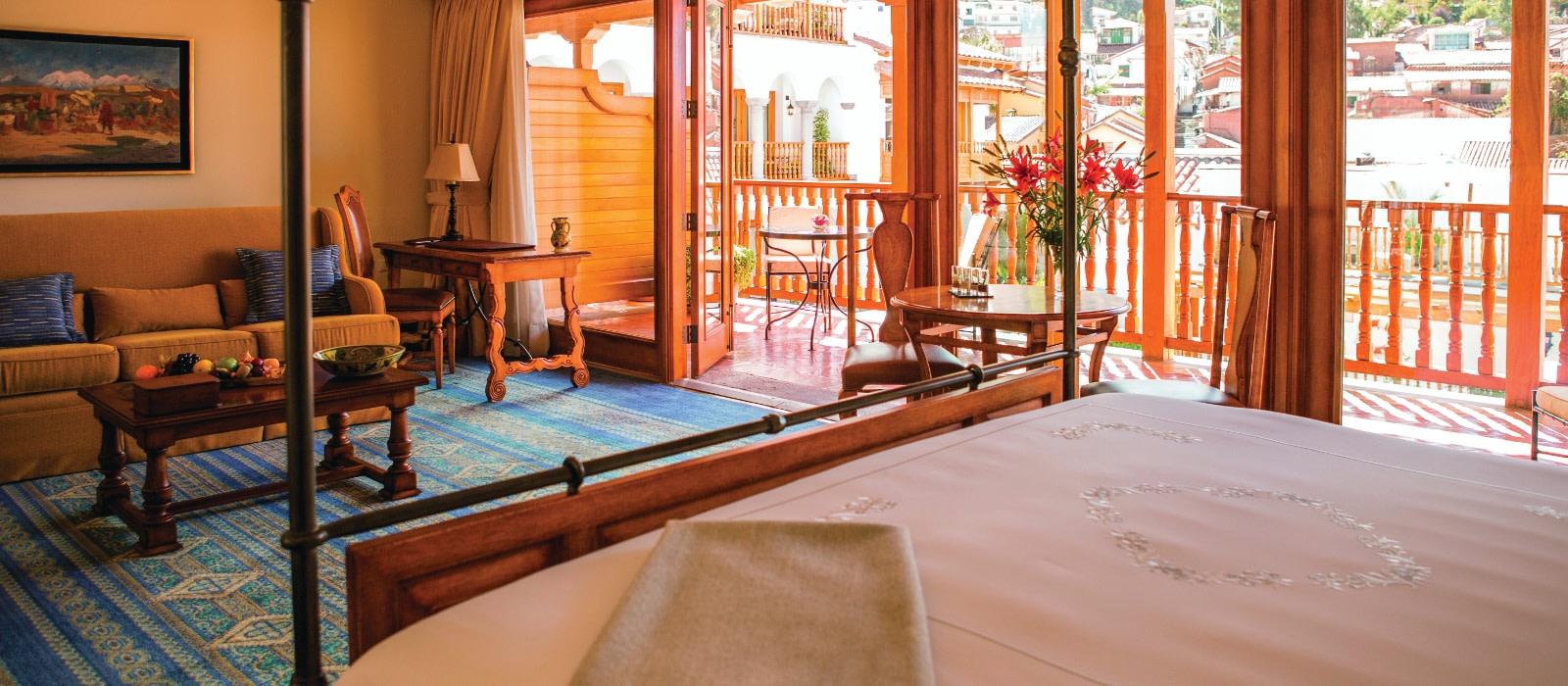Hotel Belmond Palacio Nazarenas Peru