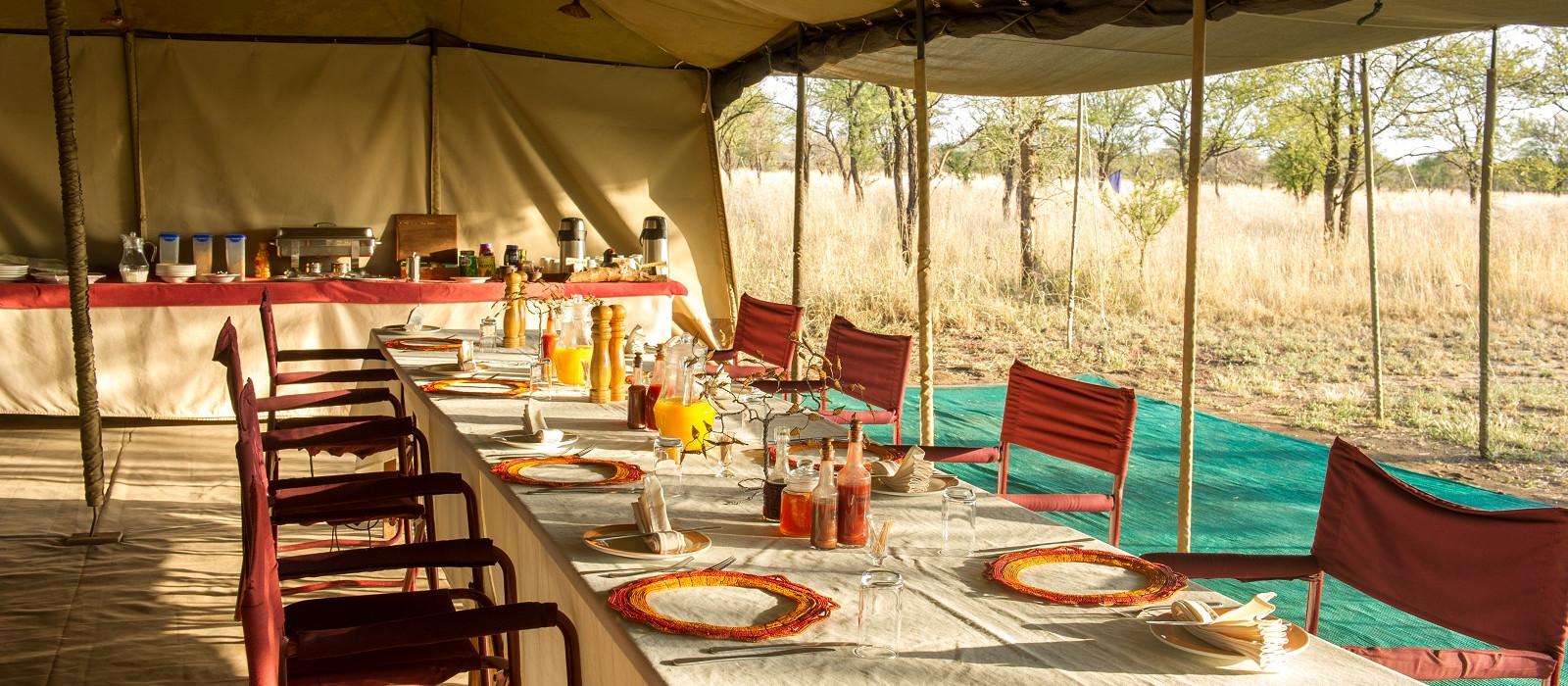 Hotel Serengeti North Wilderness Camp Tansania