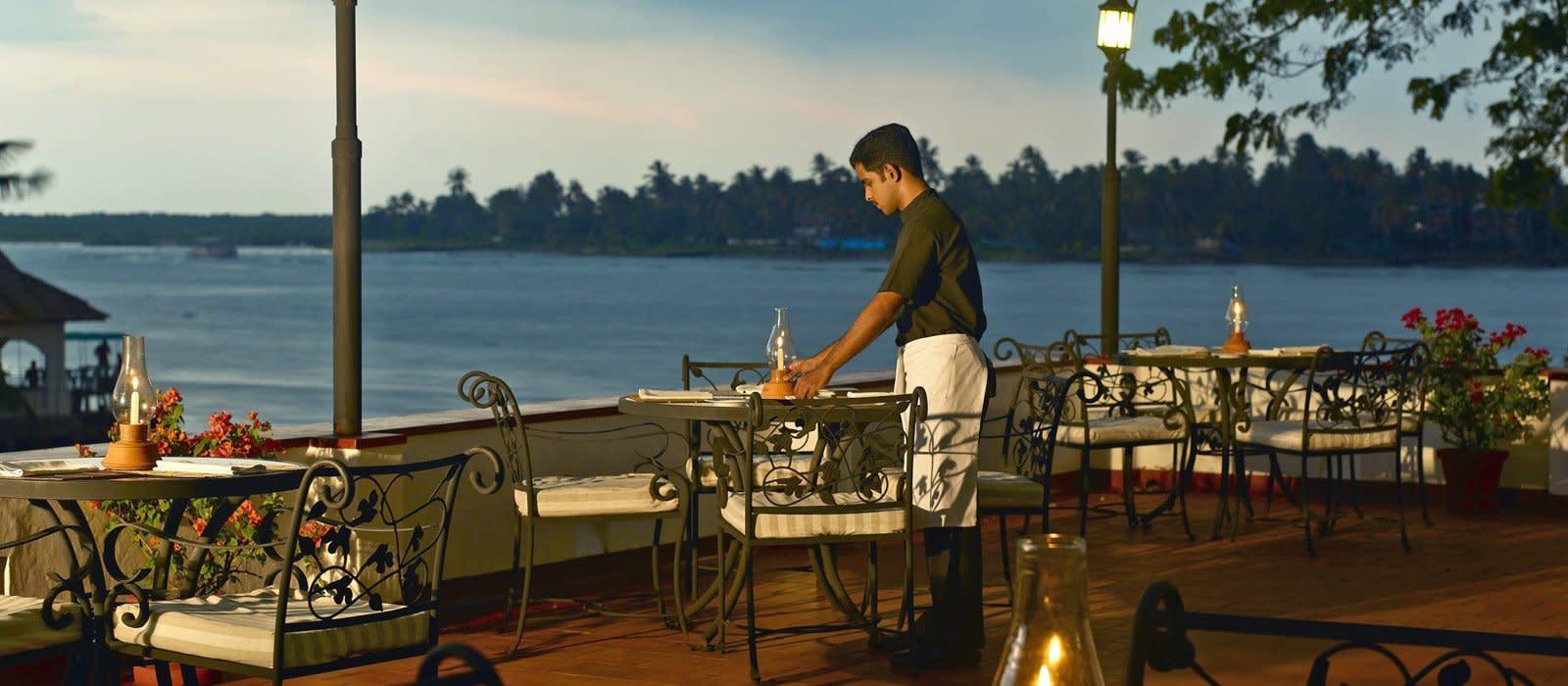Hotel Brunton Boatyard Südindien