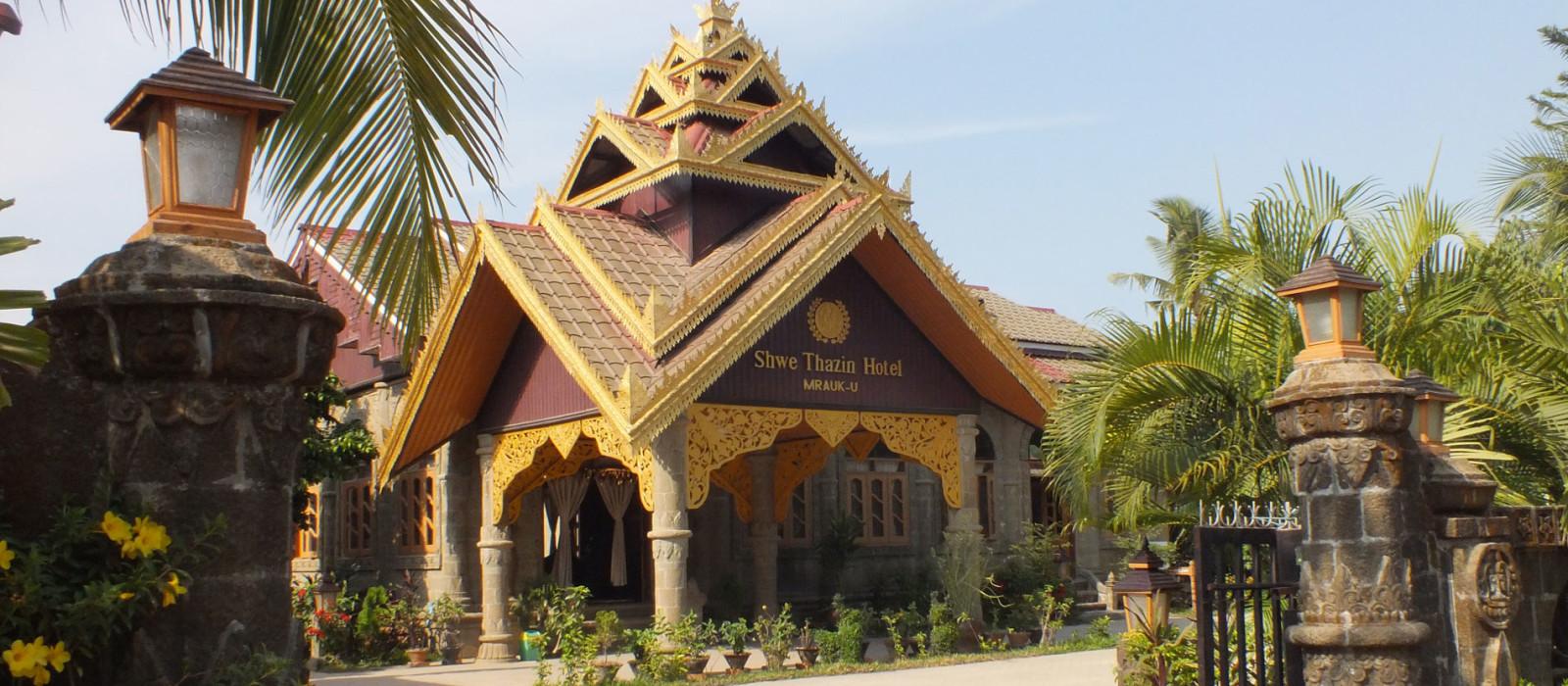 Hotel Shwe Thazin  Mrauk U Myanmar