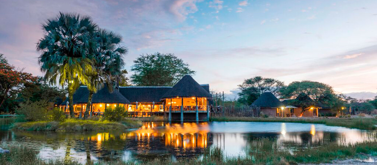 Hotel Onguma Bush Camp Namibia