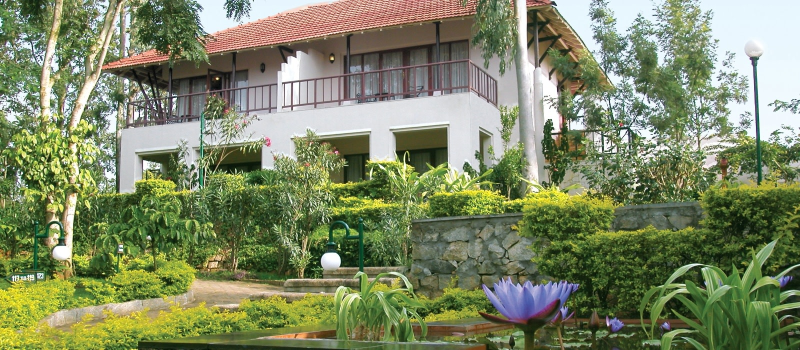 Hotel The Gateway  KM Road Chikmagalur Südindien