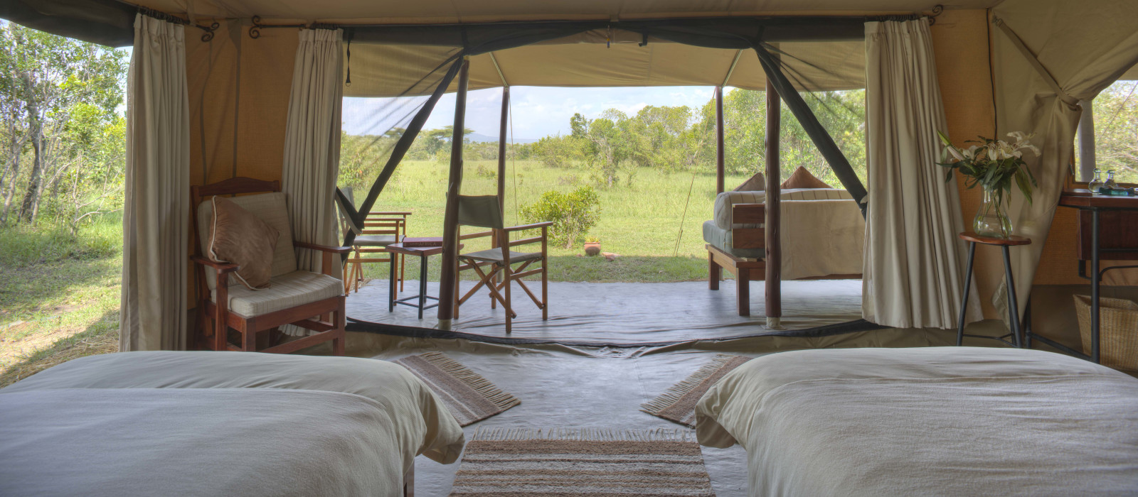 Hotel Encounter Mara Kenia