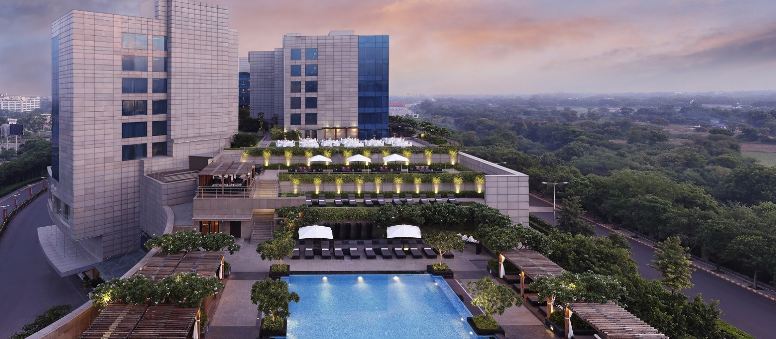 Hotel The Leela Ambience Gurgaon Nordindien