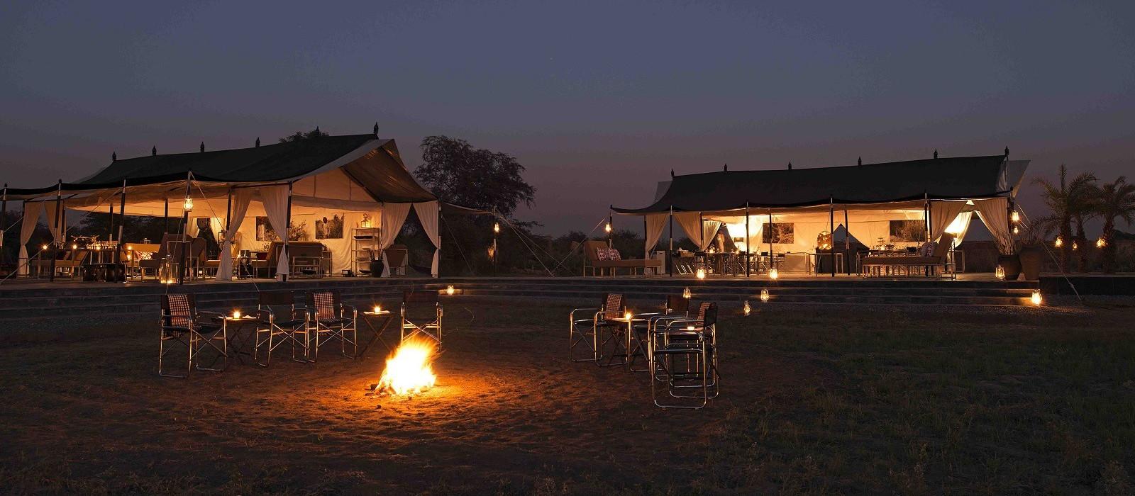 Hotel SUJÁN's JAWAI Leopard Camp Nordindien