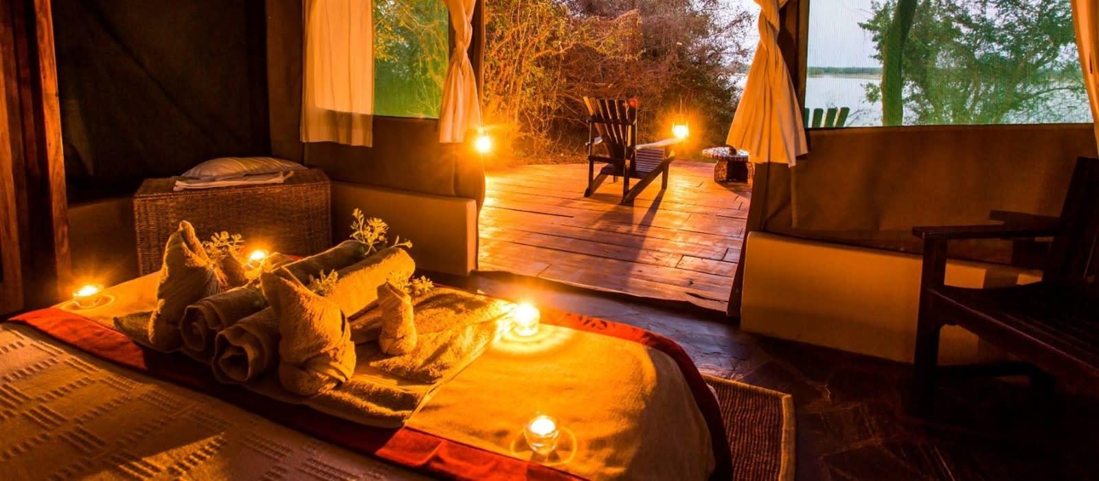 Hotel Kasaka River Lodge Sambia