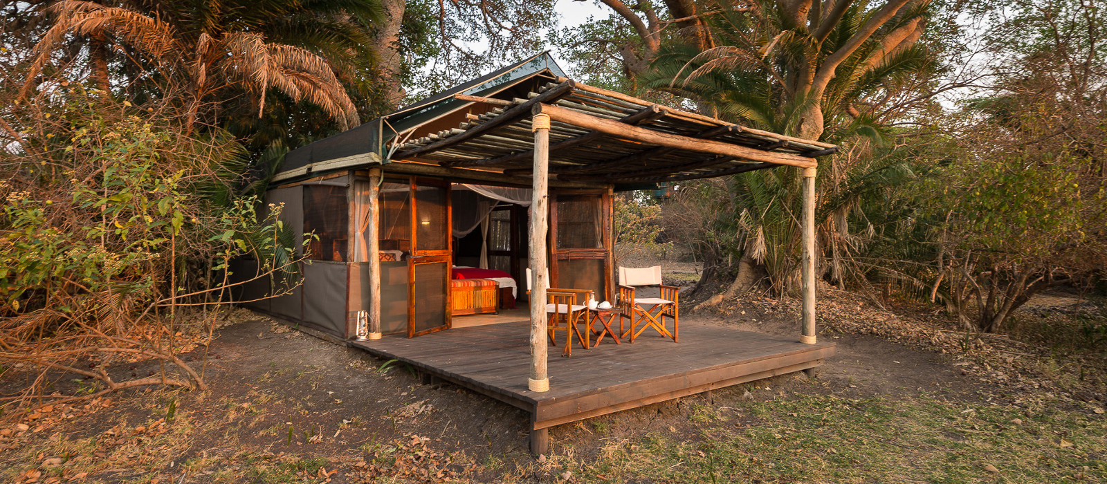 Hotel Busanga Bush Camp Sambia