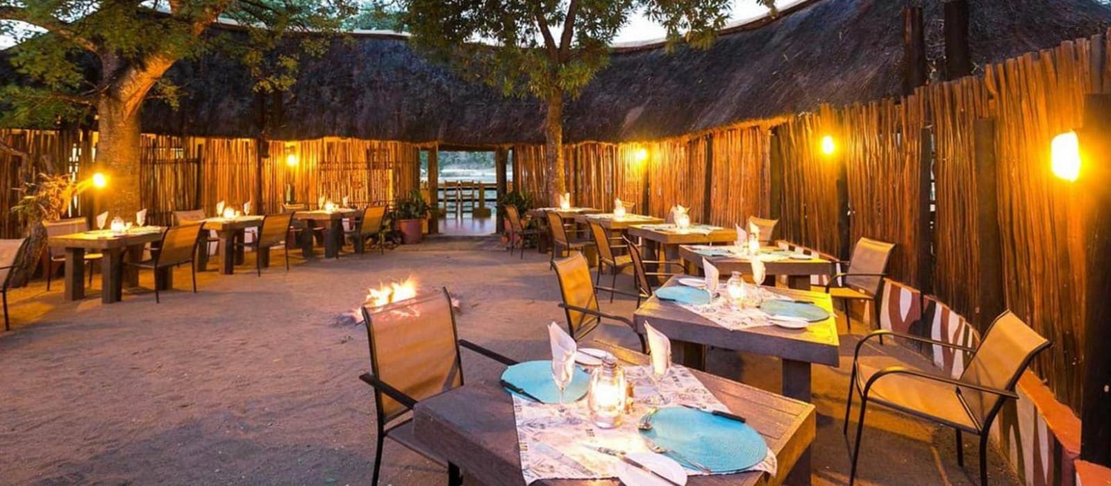 Hotel Umkumbe Safari Lodge Südafrika