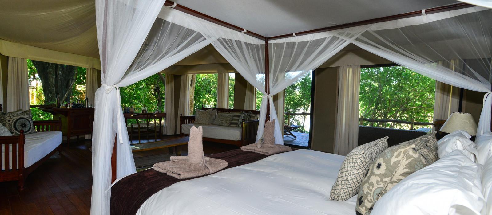 Hotel Kanga Camp Mana Pools Simbabwe