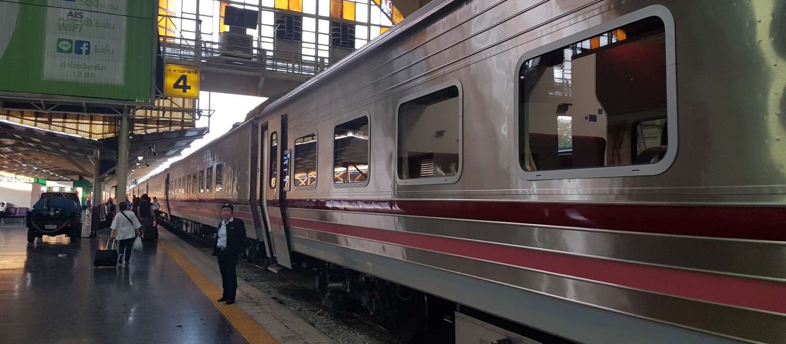 Hotel Ayutthaya – Chiang Mai Night Train Thailand
