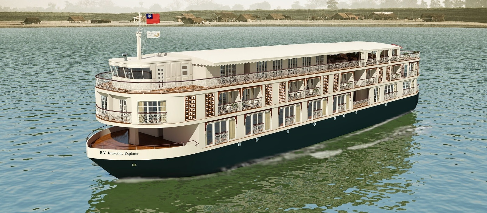 Hotel Paukan Cruise Myanmar